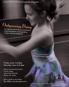 GroundWorks Dance Ensemble Presents Outgrowing Daisy