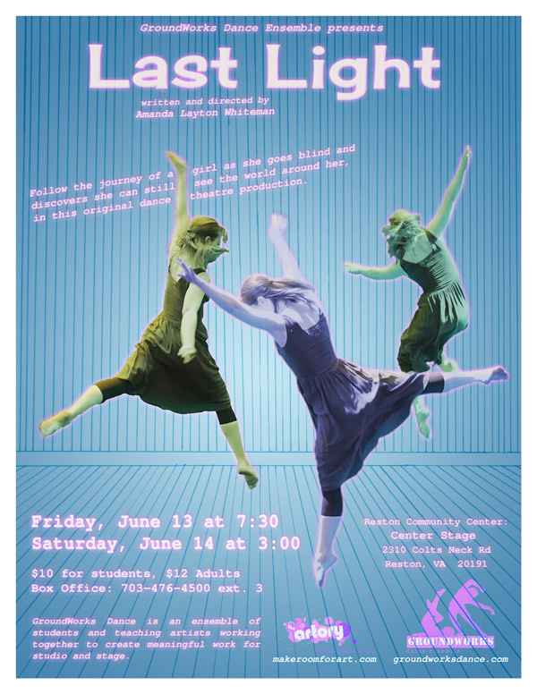 Follow the journey of a girl as she goes blind and discovers she can still see the world around her, in this original dance theatre production.