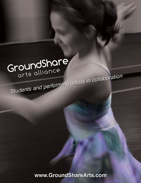 GroundShare Arts Alliance. Students and performing artists in collaboration.